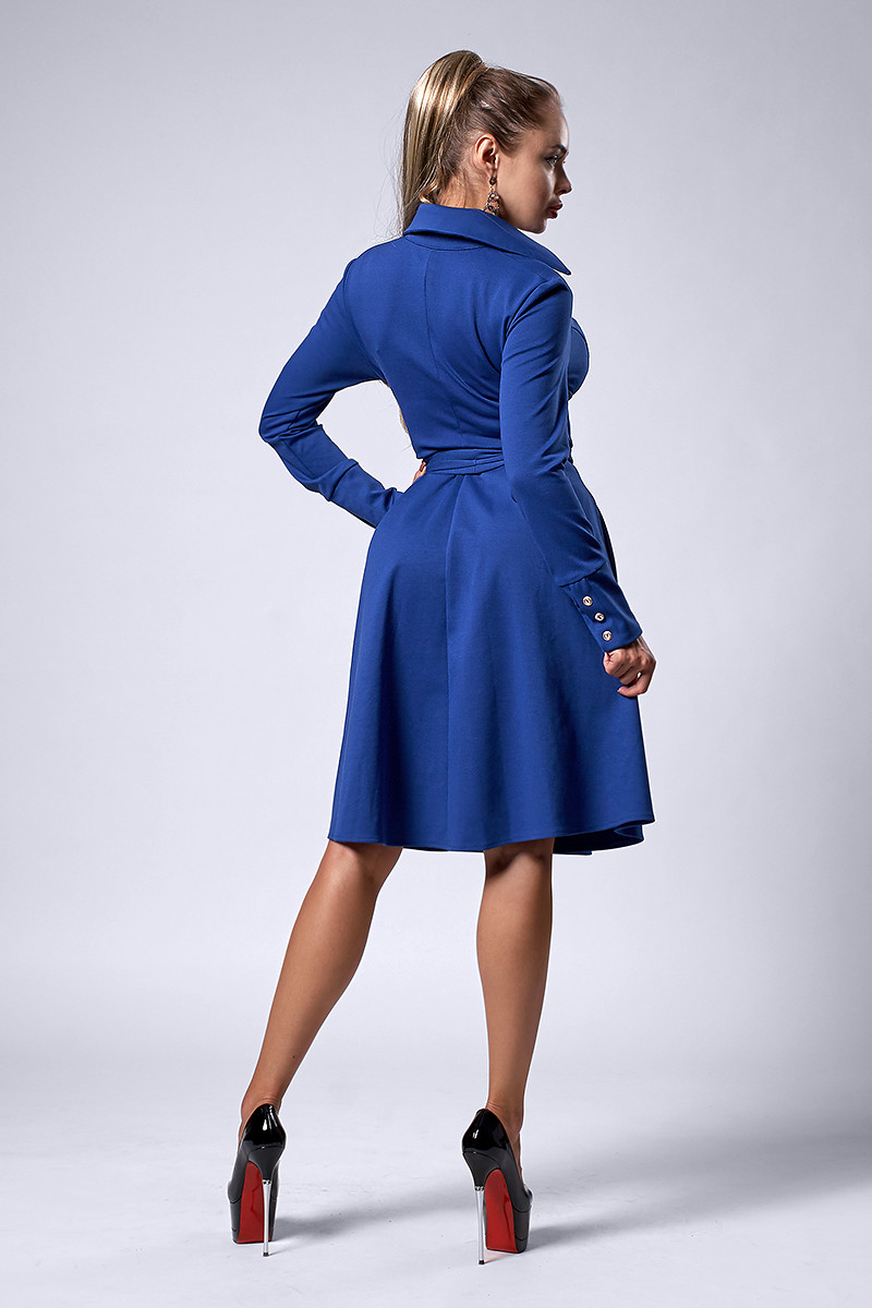 fec6e1f8ff0c211 Платье мод №538-3, размеры 50 пудра, цена 390 грн., купить в Хмельницком —  Prom.ua (ID#591032857)