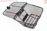 Передняя корзина-багажник  с крышкой на мопед ACTIVE