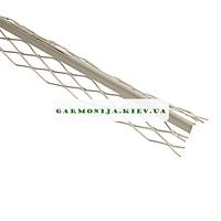 Угол для мокрой штукатурки металлический крашеный 2.5 м