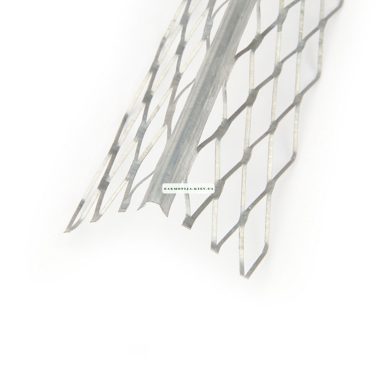 Угол для мокрой штукатурки оцинкованный, 3.0 м 0,35мм