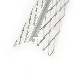 Угол для мокрой штукатурки оцинкованный, 3.0 м 0,35мм, фото 2