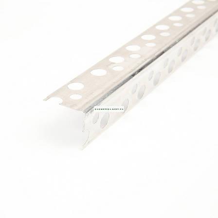 Угол перфорированный аллюминиевый 3.0 м. 0,21х19х19 мм, фото 2