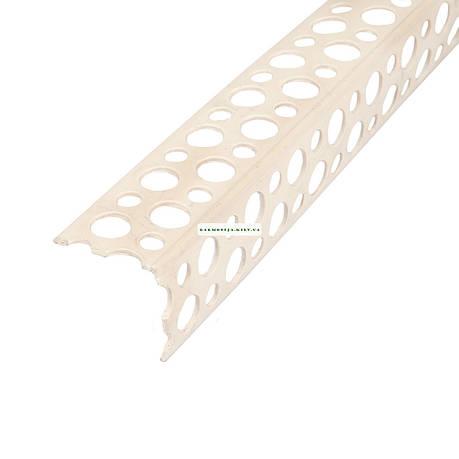 Угол для мокрой штукатурки пластиковый 3.0 м, фото 2