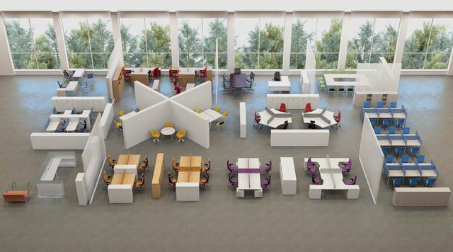 Суперсовременная мебель для офисов - тел. 057-760-30-44