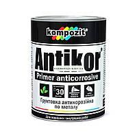 Грунтовка по металлу Antikor Кompozit (1 кг, красно-коричневый)