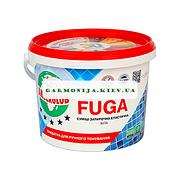 Водостойкий заполнитель швов для плитки Anserglob Fuga белый 3 кг