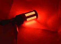 Светодиодная автомобильная лампа в задний фонарь автомобиля с цоколем T20(7443)(W21W/5W) 24W 9-30V-Красный, фото 2