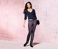 Легкие женские брюки Slim Fit от Tchibo размер евро 40