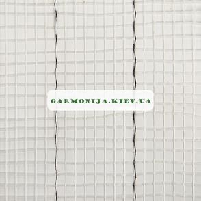 Сетка стеклотканевая Universal белая с черными полосами, 5х5 мм, 1х50 м, 60 г/м2, фото 2