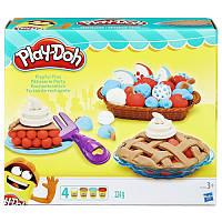 Набор для творчества с пластилином Play-Doh «Ягодные тарталетки» B3398 Hasbro