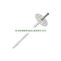 Термодюбель для утеплителя 2 сорт стальной гвоздь Амекс 10x160 мм черный 100 шт