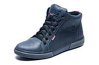 Зимние ботинки Wrangler, мужские, синие, натуральная кожа, р. 41