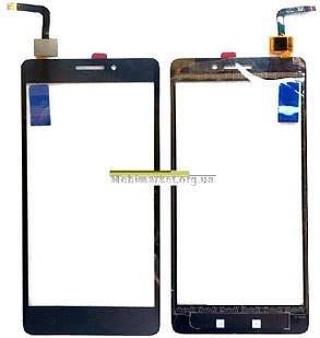 Сенсор (тачскрін) Lenovo Vibe P1M  чорний, фото 2