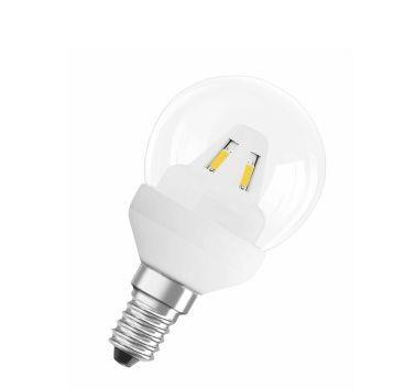 Лампа LED STAR CLASSIC P15 2 W / 827 E14 OSRAM