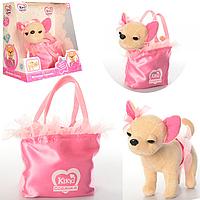 Собачка Кики с сумкой M 3644 UA