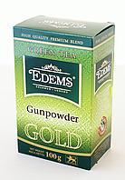 Зелений листовий чай «Edems Gunpowder GOLD», 100г