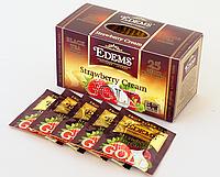 "Чай в сашетах ""Edems Strawberry Cream GOLD"", 25ф/п"