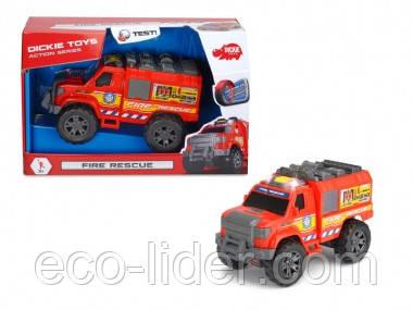 """Функциональное авто """"Пожарная служба"""" со звук. и свет. эффектами, 20 см, 3+"""