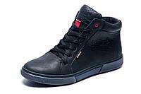 Зимние ботинки Wrangler, мужские, черные, натуральная кожа, р. 41 42 43 45