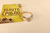 Золотое колечко с бриллиантом. Размер 16. Вес 1,48 гр.