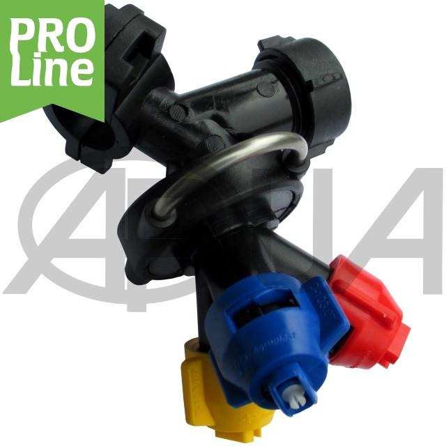 Форсунка тройная трубная RAU 25 PRO LINE Agroplast | AP0-100/09/G/3/PRO_25 AGROPLAST