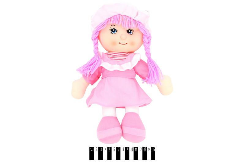Музыкальная кукла мягкая R90A14(ABC)