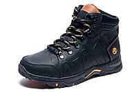 Зимние ботинки Timberland, мужские, черные, натуральная кожа, р. 40 41 42 44 45