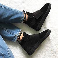 Женские Кроссовки Adidas Invader Strap Black