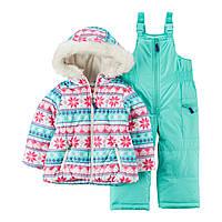 Зимний комплект Carter's для девочек (CША)