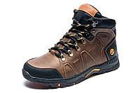Зимние ботинки Timberland, мужские, коричневые, натуральная кожа, р. 40 41 42 45