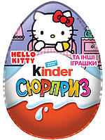 Яйцо шоколадное Kinder Surprise Hello Kitti / Киндер Сюрприз Хелло Китти