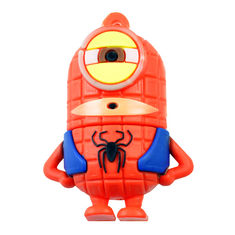 USB Флешка Миньон-Человек Паук 16GB