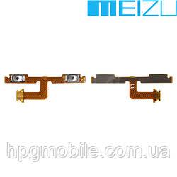 """Шлейф для Meizu MX4 5.3"""", кнопок звука, с компонентами, оригинал"""
