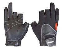 Перчатка спиннингиста Fishing ROI WK-11 black L (c 2 пальц.)
