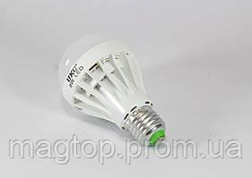 Лампочка LED LAMP E27 9W Круглые (100)