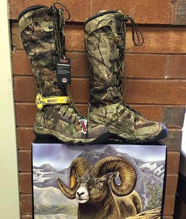 Ботинки для охоты демисезонные Rocky GameSeeker Waterproof Snake Boot, фото 2