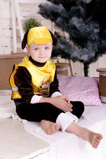 Детский карнавальный костюм мультперсонажа Крепыш
