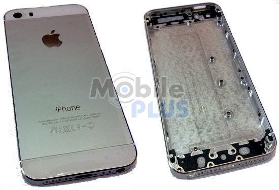 Задняя крышка для iPhone 5S Silver