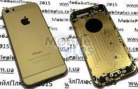 Задняя крышка для iPhone 5S стилизованная под iPhone 6 Gold