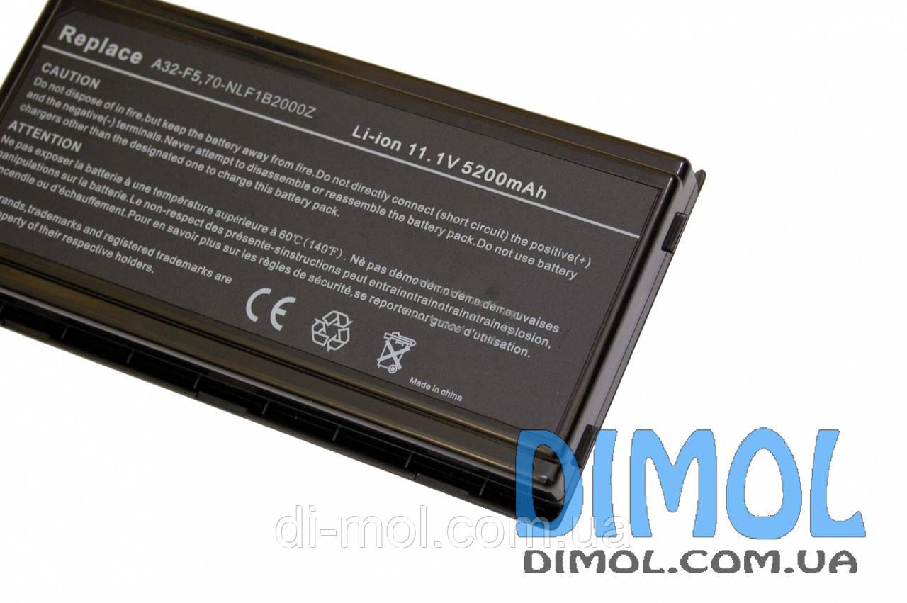 Аккумуляторная батарея для Asus F5 X50 X59 series 5200mAh 11.1 v