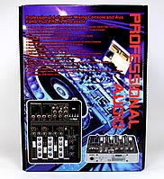 Аудио микшер Mixer BT4000 4ch.+BT (10)