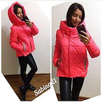 Женская демисезонная куртка р.42-52