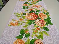 """Ткань вафельная ширина 50 см Летний сад / """"Чарівна Ніч"""""""