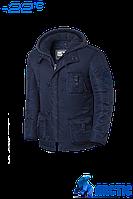 Парка мужская зимняя Braggart Arctic - 17m203S темно-синяя