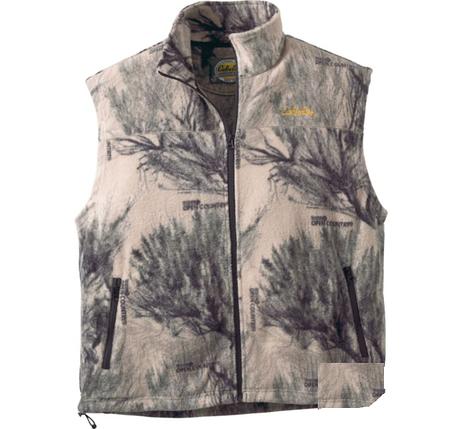 Жилет охотничий флисовый Cabela's Basecamp Fleece Vest Seclusion 3D® Open Country®, фото 2
