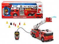 Пожарная машина на ДУ со звук. и свет. эффектами, 62 см, 3+