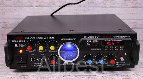 Усилитель звука UKC AV-339A +USB +караоке