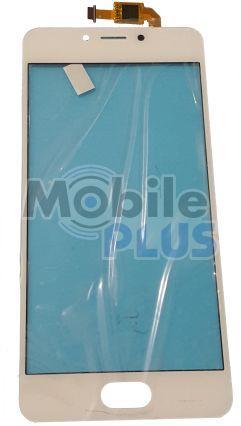Сенсорный экран (тачскрин) для телефона Meizu M5c (M710h) White