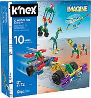 10 Моделей (126 деталей), набор для конструирования, K`nex