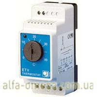 Терморегулятор для теплого пола ETV-1999 на DIN-рейку